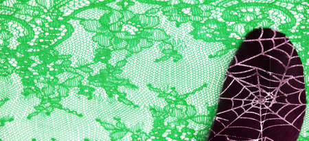 lace fabric. bird feather. lace color green on a white background. Texture, pattern. When it's time to choose the right pattern for your needs, you can count on my textures. Stockfoto - 168130386