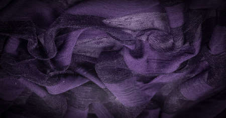 light transparent silk fabric of violet color, Soft-touch material is available in a rainbow of colors to combine with the latest developments of you