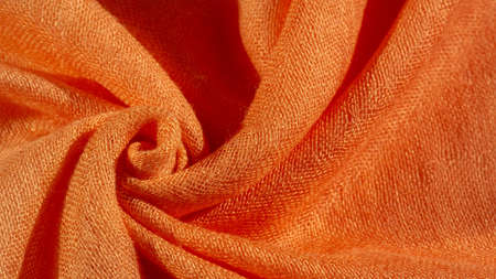 Bright red material. This silk is exceptionally smooth and soft, with a beautiful smooth texture. background pattern