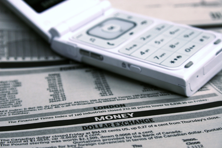 money matters: money matters and cell phone