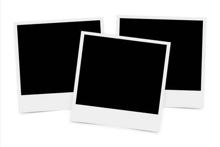 High resolution image of blank photo for designs and frames. photo