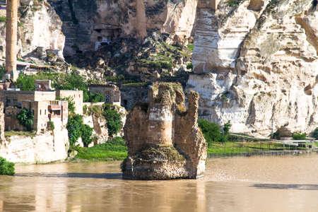 batman: Hasankeyf Village on Tigris River, Batman, Turkey.