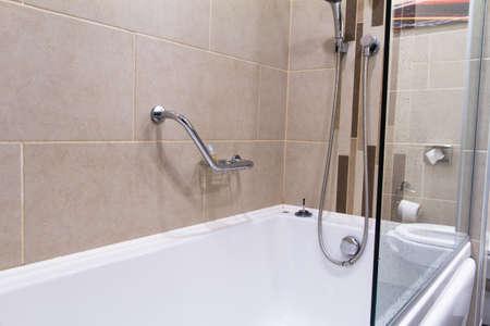 Bathroom with a bathtub. Stock Photo - 22712685