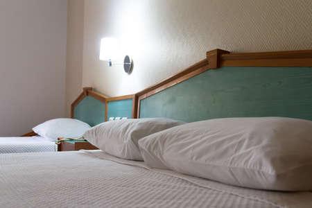 Inter of modern hotel bedroom. Stock Photo - 22721345