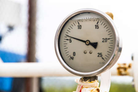 Old barometer with depth of field. Stock Photo - 22721760