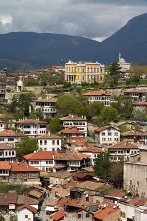 Traditional ottoman houses from Safranbolu, Turkey. photo