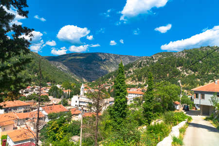 Oldest town in Neretva Canton of Bosnia and Herzegovina. Archeological area has been settled since ancient times. 스톡 콘텐츠 - 132968024