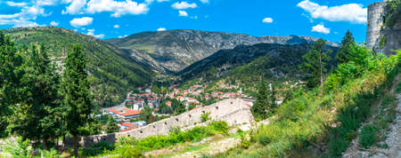 Oldest town in Neretva Canton of Bosnia and Herzegovina. Archeological area has been settled since ancient times. 스톡 콘텐츠 - 133069848