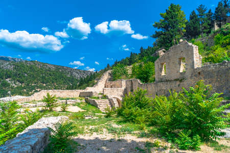 Oldest town in Neretva Canton of Bosnia and Herzegovina. Archeological area has been settled since ancient times. 스톡 콘텐츠 - 133069928