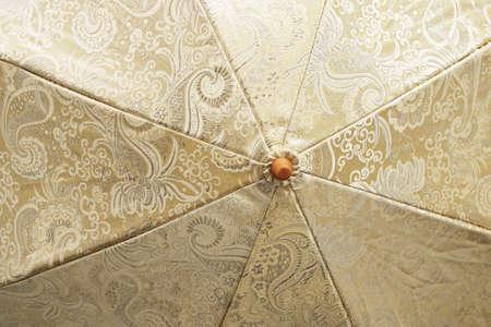 Surface disclosed umbrella. Close-up.