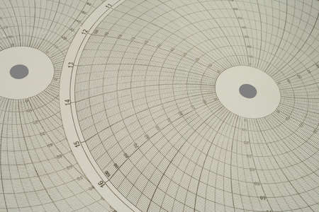 Chart round, for the recorders. Close-up.