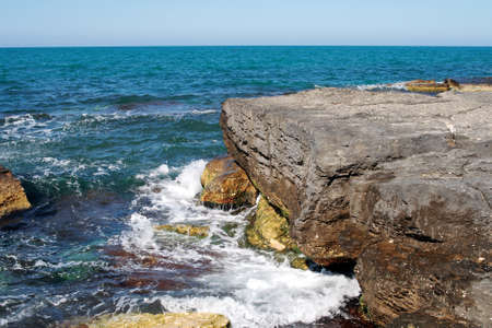Caspian Sea. Stock Photo