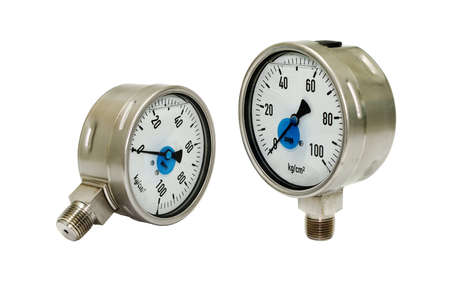 Two Pressure Gauges