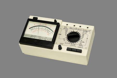 ammeter: Analog Multimeter  Stock Photo