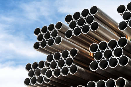 Aluminum tubes  photo