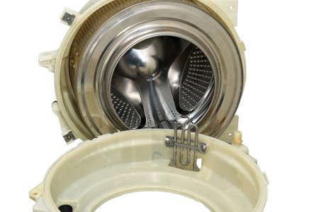 Steel drum of a washing machine Stock Photo - 15445269
