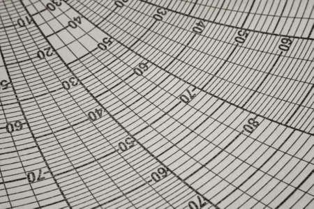 Chart round for the recorders  Close-up  Background