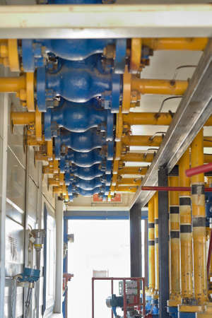 metering: Login gas from various wells for metering