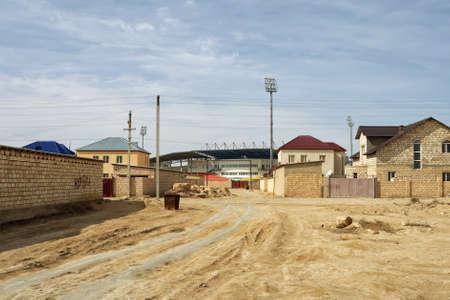 suburb: Suburb of the city of Zhanaozen in Kazakhstan.