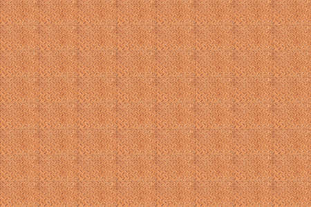 repetitive: Grungy ridged rusty metal plate background with a repetitive pattern in rows