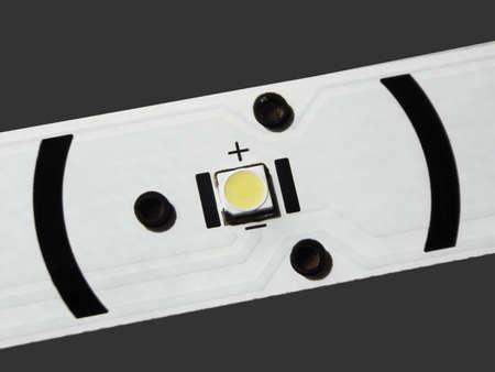 LED backlight LCD TV. LED with lens. Banco de Imagens