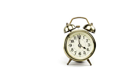 pm: Either the clock start at 4 am or 4 pm, depends on what it fits for ur concept. free space for your text here Stock Photo