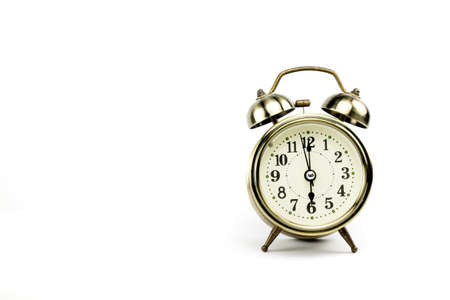 depends: Either the clock start at 6 am or 6 pm, depends on what it fits for ur concept. free space for your text here