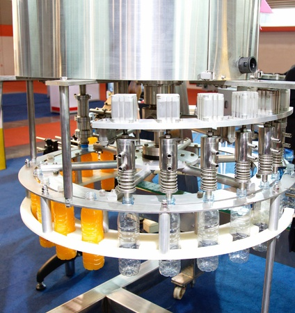 packaging industry: Water filling machine