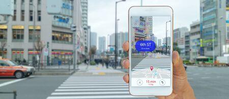 map use ai, algoritmos de inteligencia artificial para determinar lo que las personas quieren ver Cuando el servicio de ubicación GPS está activado y la aplicación Maps está abierta, ventanas emergentes que pueden dirigir al usuario a un punto de referencia