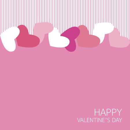 Feliz día de San Valentín. ilustración vectorial