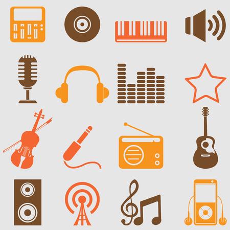音楽のアイコンを設定