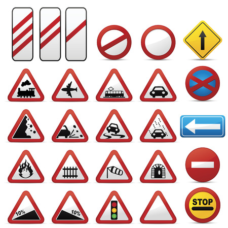 road sign: Road Signs