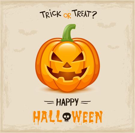 Happy Halloween poster Фото со стока - 87615603