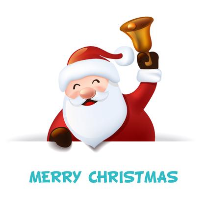 メリー クリスマス サンタ  イラスト・ベクター素材