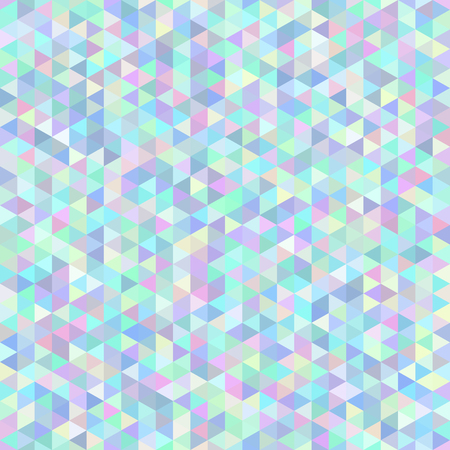 Seamless abstract polygonal background composed of triangles. Vector illustration. Vettoriali