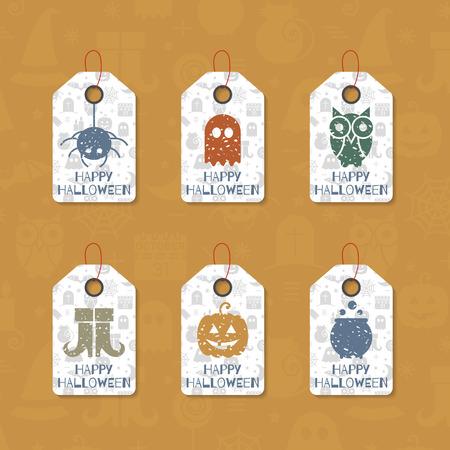 halloween gift tags templates