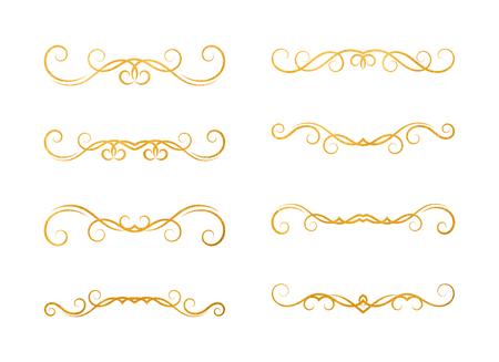 Set of hand drawn dividers 向量圖像