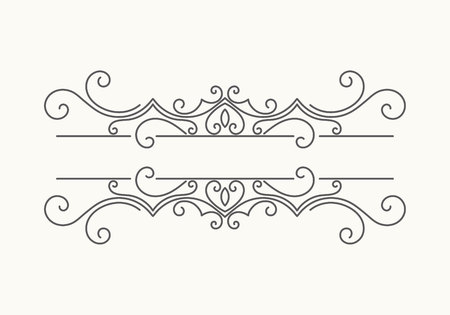 Hand drawn decorative border