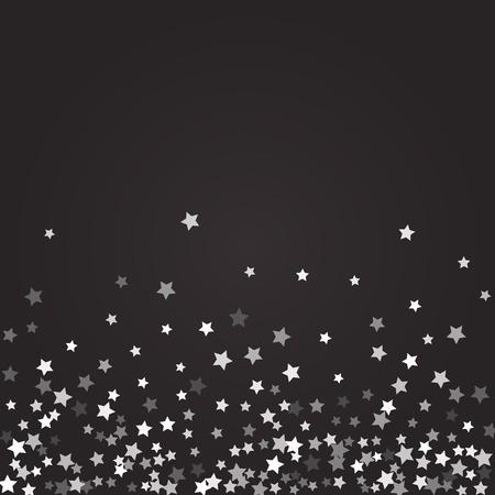 Abstract pattern of random falling stars. 일러스트
