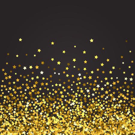 Abstract pattern of random falling stars