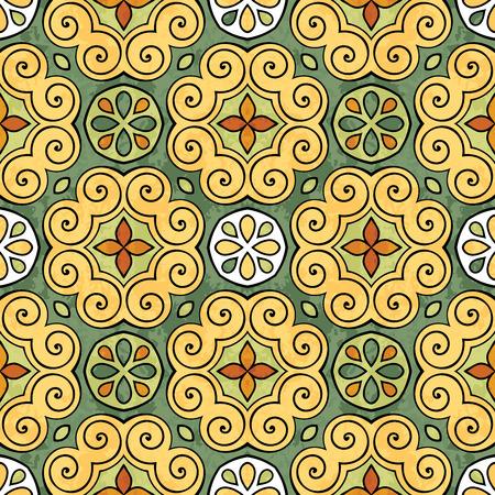 Abstract colorful mandala image design wallpaper illustration