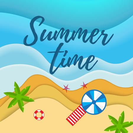 Summer holiday camp poster
