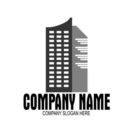Simple logo for real estate company
