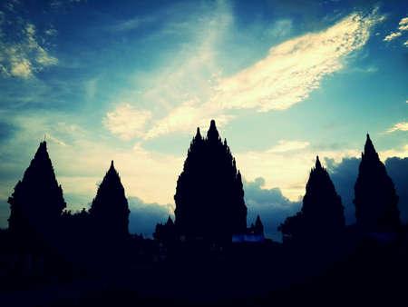 yogyakarta: Prambanan Temple, Klaten - Yogyakarta Stock Photo