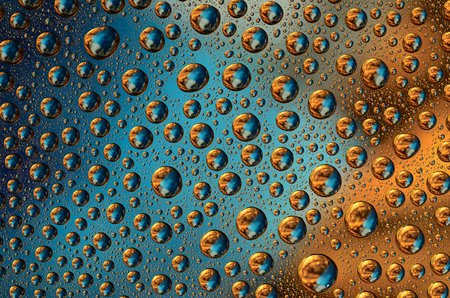 Colored Water Drops  photo