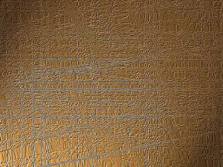 styrene: Seamless brown  texture with plastic effect. Empty surface background Stock Photo