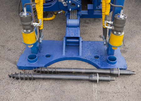 drills: Hydraulic Cylinders of boring machine and drills