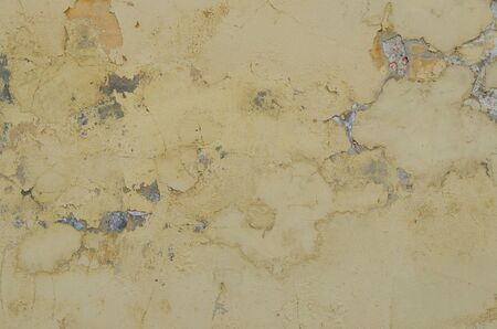 construction material: background of rough old cement plaster wall Stock Photo