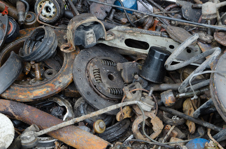 worthless: Useless, worn out rusty clutch discs and other parts
