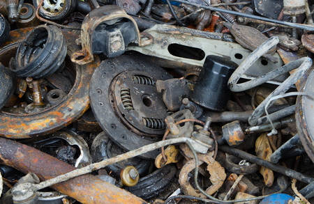 useless: Useless, worn out rusty clutch discs and other parts